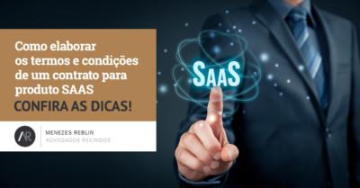 Como elaborar os termos e condições de um contrato para produto SAAS