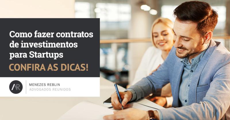 Como fazer contratos de investimentos para startups?