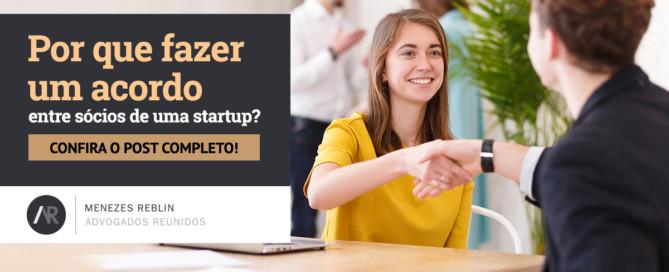 Por que fazer um acordo entre sócios de uma startup?